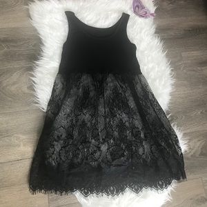 Other - Black Lace camisole skirt/lingerie slip